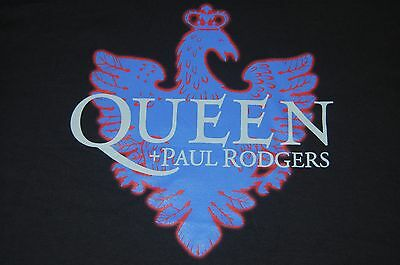 QUEEN Shirt Black Size XL Adult + PAUL RODGERS 2005 Tour Shirt NEW
