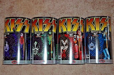 Polar Lights - KISS PRE-PAINTED FIGURES model kit - Set of 4 ALL FACTORY NEW