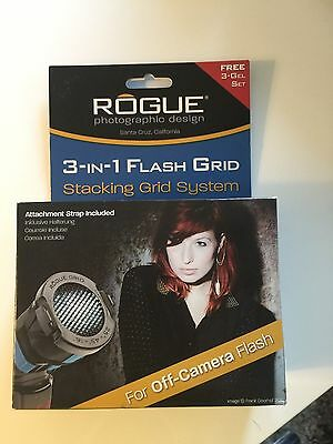 Rogue ROGUEGRID2 Flash Grid 3-in-1 Stacking System, 3 Gel Starter Set Included