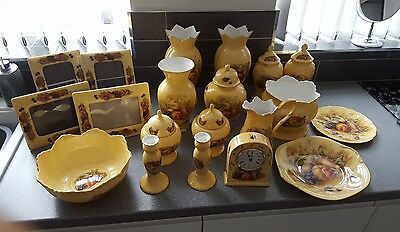 aynsley china orchard gold joblot ( 4 frames sold )