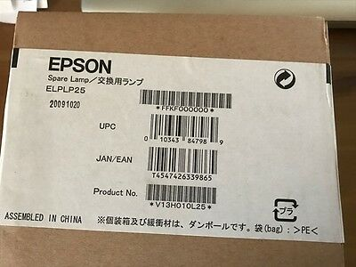 GENUINE EPSON Projector Lamp ELPLP25 Original Bulb with Replacement Housing