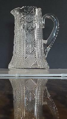 ABP SCARCE Signed Newark New Jersey Cut Glass Co. Pitcher 1906-1918