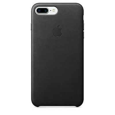 APPLE BRAND Leather case for iPhone 7+ PLUS - BLACK - NEW IN BOX!!