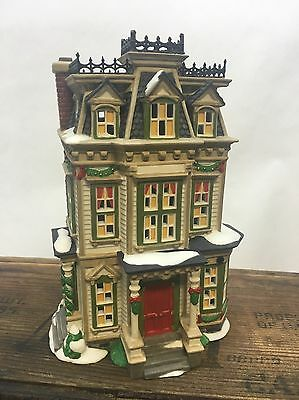 DEPARTMENT 56 #56610 Hale And Hardy House-New England Village Collectible