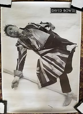 DAVID BOWIE B&W EARTHLING 1997 POSTER - RARE! 23X33 by SA Stanton