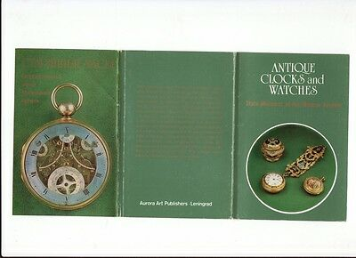 Antique clocks and watches. State Museums of the Moscow Kremlin.18 postcards