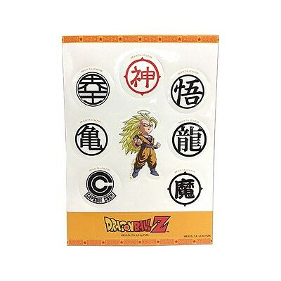 **License** Dragon Ball Z Super Saiyan Goku DragonBall Sticker Sets Dbz New