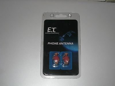 E.T The Extra Terrestrial Phone Antenna pack of 2 plus 3D E.T topper