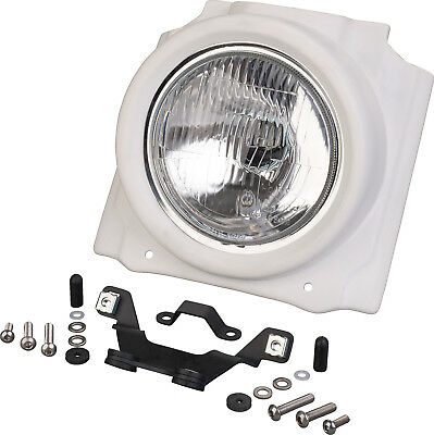 JvB-Moto Headlight Cover; GRP (Unpainted) Incl. H4 Headlight w/Hardware A-009