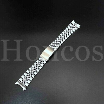 20MM Silver Color President Jubilee Watch Band Bracelet fits for Invicta Watch