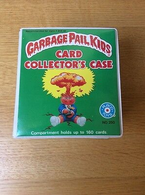 1986 OS GPK Placo Official Garbage Pail Kids Card Collectors Case