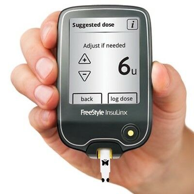 FreeStyle InsuLinx Blood Glucose Meter - TOUCH SCREEN - Single Unit Meter Only