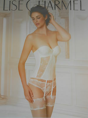 AFFICHE POSTER GEANT   LISE CHARMEL   2015       180x120      TBE  NON  PLIEE