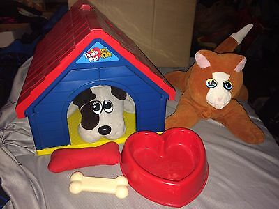 Vintage 80s Tonka Pound Puppies/Purries Pup's Pad Lot