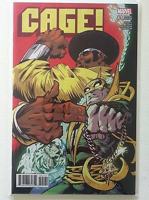 """Cage (2016) #1 Damion Scott """"run The Jewels"""" Variant Cover Rtj Nm 1St Printing"""