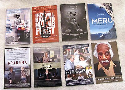 Lot of 8 Eight Collectible 4x6 Inch Movie Lobby Cards Postcard Current Releases