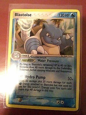 Blastoise 14/100 Non Holo Rare Pokemon Card NM Ee Crystal Guardians Pokemon TCG