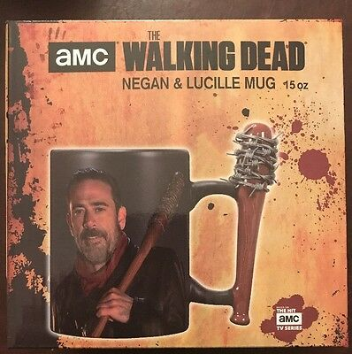 AMC The Walking Dead Negan & Lucille 15oz Mug Officially Licensed NIB New