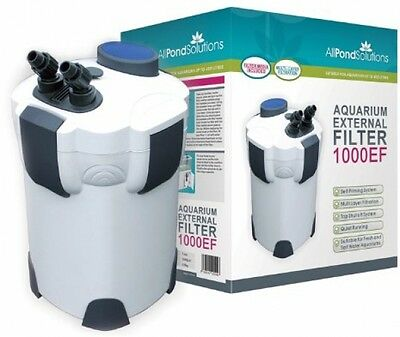 All Pond Solutions 1000EF Aquarium External Filter, 1000 Litre/ Hour