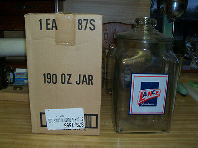 Lance Jar Brand New Never Opened Mint In Box 2005