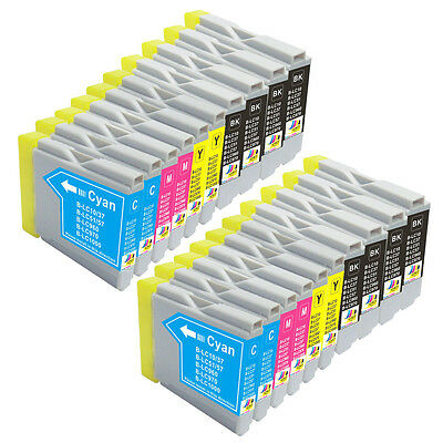 20 Non-Oem Ink Brother Lc51 Lc-51 Mfc-240C Mfc-440Cn Mfc-5860Cn Mfc-5460Cn 845Cw