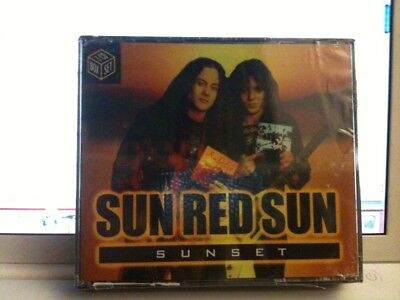 MIke Starr Sunset 3 CD Set SUN RED SUN OOP 1993 Bobby Rondinelli Ray Gillen MINT