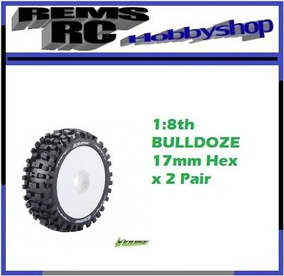 Louise B-ULLDOZE 1:8 OFF Road on White Rim 17mm Hex