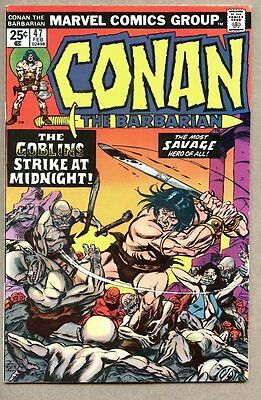 Conan The Barbarian #47-1975 vf- John Buscema