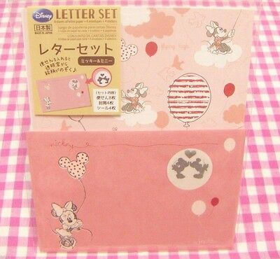 Disney Minnie Mouse Letter Set / Made in Japan DAISO Stationery