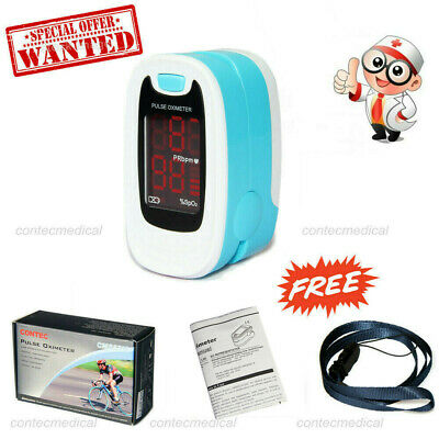 FDA Fingertip Pulse Oximeter Blood Oxygen meter SpO2 Heart Rate Patient Monitor