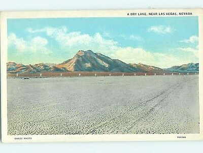 Unused W-Border DRY LAKE Las Vegas Nevada NV hk3830-22