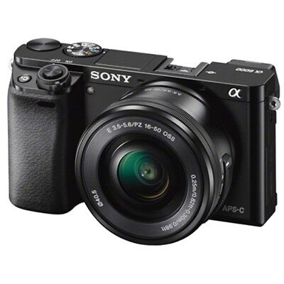 Sony Alpha A6000 ILCE6000LB Mirrorless Camera 16-50mm Lens Kit