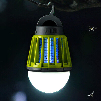 Mosquito Zapper Lantern Light Insect Inhaler Lamp for Indoor Outdoor Camp Light