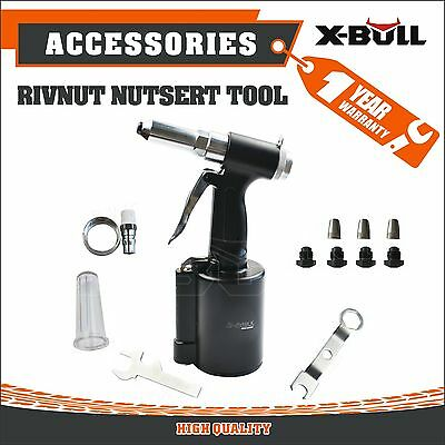 X-BULL New Air Hydraulic Pop Rivet Gun Riveter Riveting Tool Repair Heavy Duty