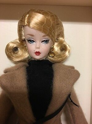 Classic Camel Coat Silkstone Barbie Doll