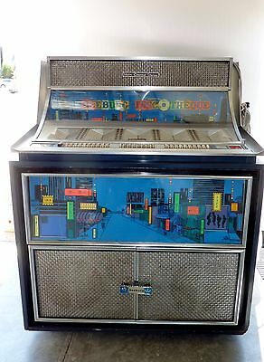 ORIGINAL1960's SEEBURG DISCOTHEQUE LP stereo PHONOGRAPH JUKEBOX American+records