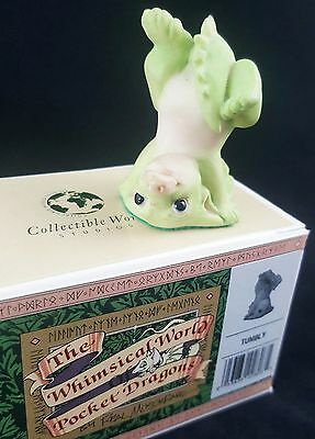 """Pocket Dragons """"Tumbly"""" by Real Musgrave 1994 Flambro Mint w/ Box"""
