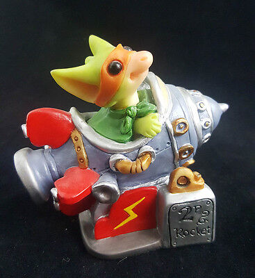 "Pocket Dragons ""Defender of the Universe"" by Real Musgrave 2001 Mint Cond No Box"