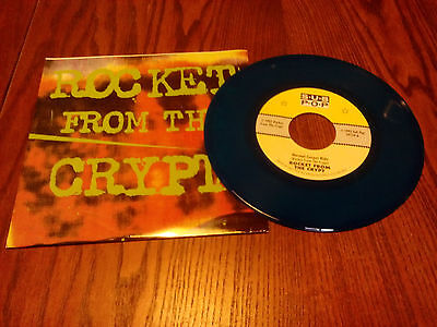 """Rocket From The Crypt - Normal carpet ride - 7"""" USA Blue Wax - Sub Pop Club"""