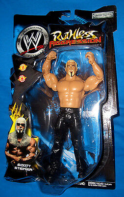 WWE Ruthless Aggression Series 3 Scott Steiner Wrestling Figure Jakks not mattel