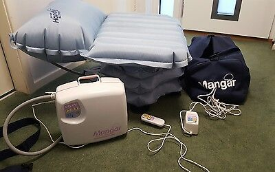Mangar Airflo Inflatable Bath Lift Seat Chair Elderly Mobility Aid + remote