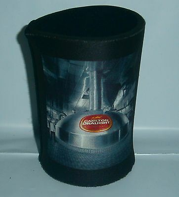 Carlton Draught Beer brand new stubby holder cooler for home bar brew collector
