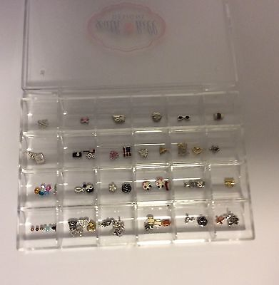 South Hill Designs Charm Lot And Case New 40+