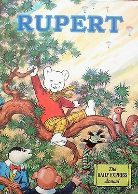 Rupert The Daily Express Annual (Hardcover 1973)