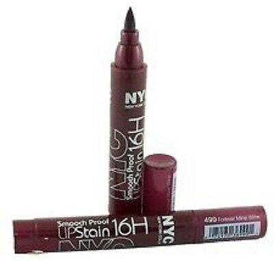 NYC Smooch Proof 16 Hour lip Stain  **499 Forever Mine Wine**