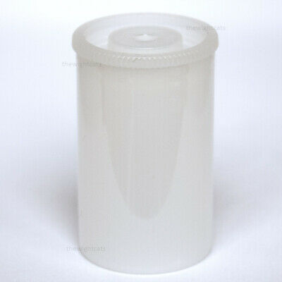 100x Film canisters 35mm containers craft jewellery making storage box Green