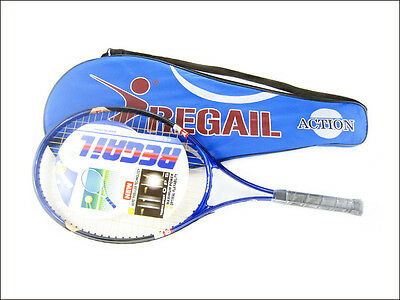 1 Pcs Regail Aluminum Alloy Sports Tennis Racket with Racquet Bag For Training