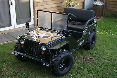 Kids Mini Willys Jeep /Range Rover ATV Vehicle