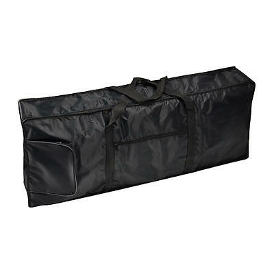 Black 61-Key Keyboard Electric Piano Padded Case Gig Bag  Oxford