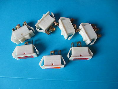Vintage Arrow Panel Switches 10A  250V  And Mains Indicator Lights.1 Unit.